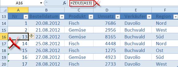 Geht Doch Automatische Nummerierung In Excel Tabellen Huegemann